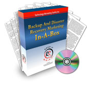 Backup and Disaster Recovery Marketing System